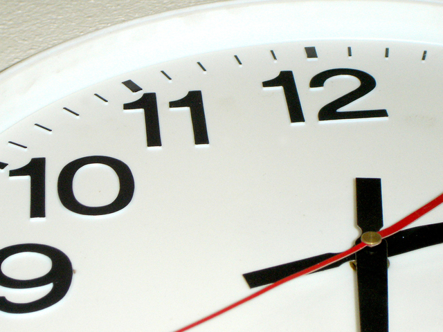 Time waits for no man (or woman)